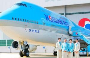 Vé máy bay hãng Korean Air